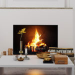 Fireplace Facelift on a Budget
